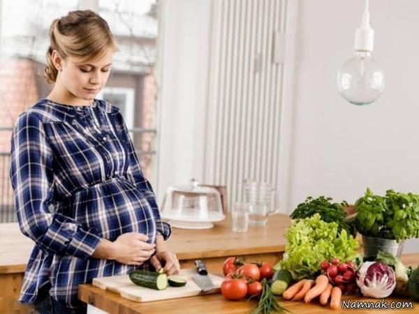 بررسی کامل تغذیه و بهداشت غذا خانم ها در دوران بارداري