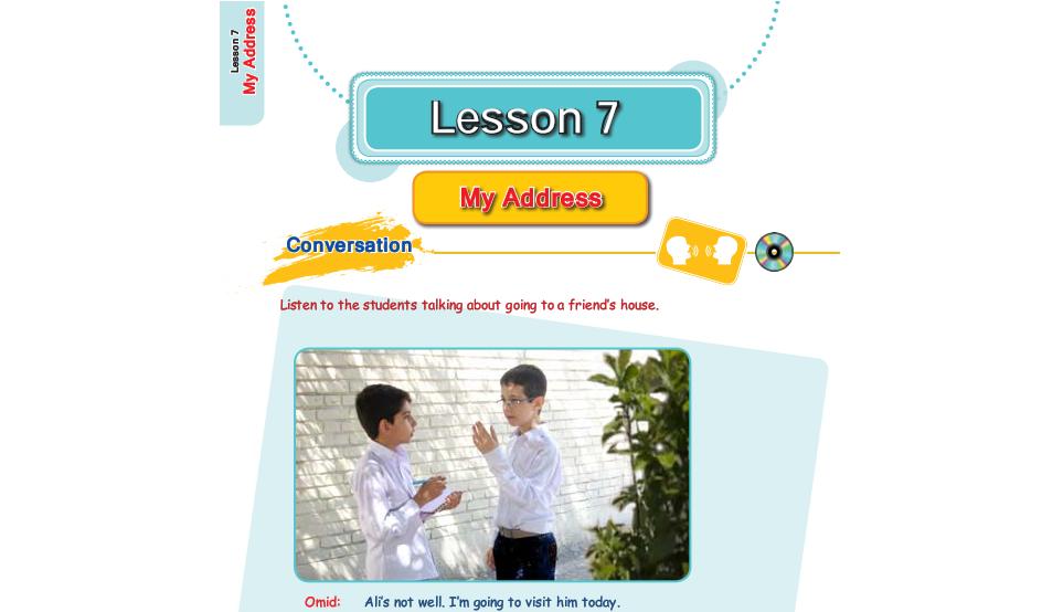 فیلم آموزش کامل درس هفتم زبان انگلیسی هفتم (My address: آدرس من)