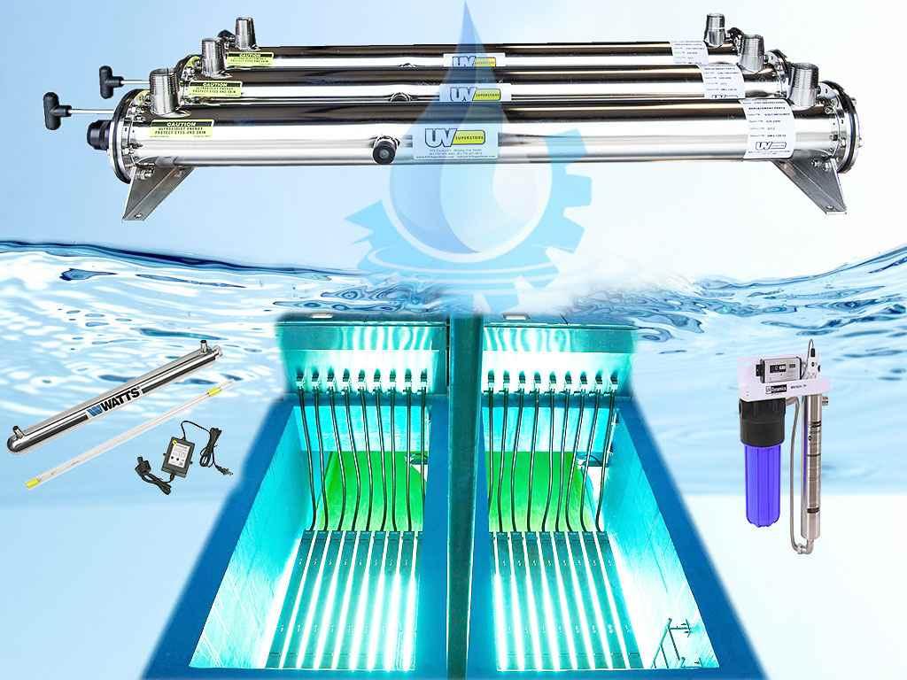 پاورپوینت گندزدایی آب با استفاده  از اشعه فرابنفش (UV)