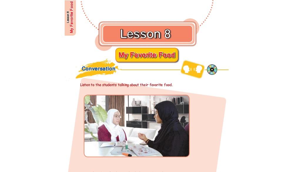 فیلم آموزش کامل درس هشتم زبان انگلیسی هفتم (My favorite food: غذای مورد علاقه من)