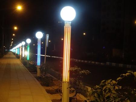 طرح توجیهی کارآفرینی تولید چراغ روشنايي پارك ها